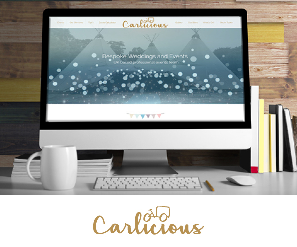 Carlicious Homepage (2018) by UX-Digital