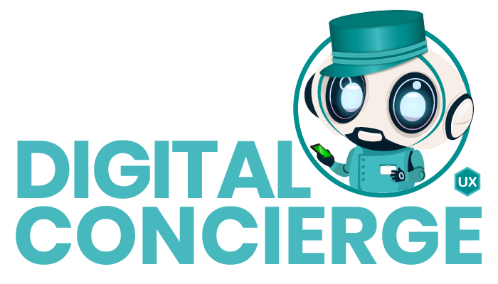 UX-Digital Concierge Graphic
