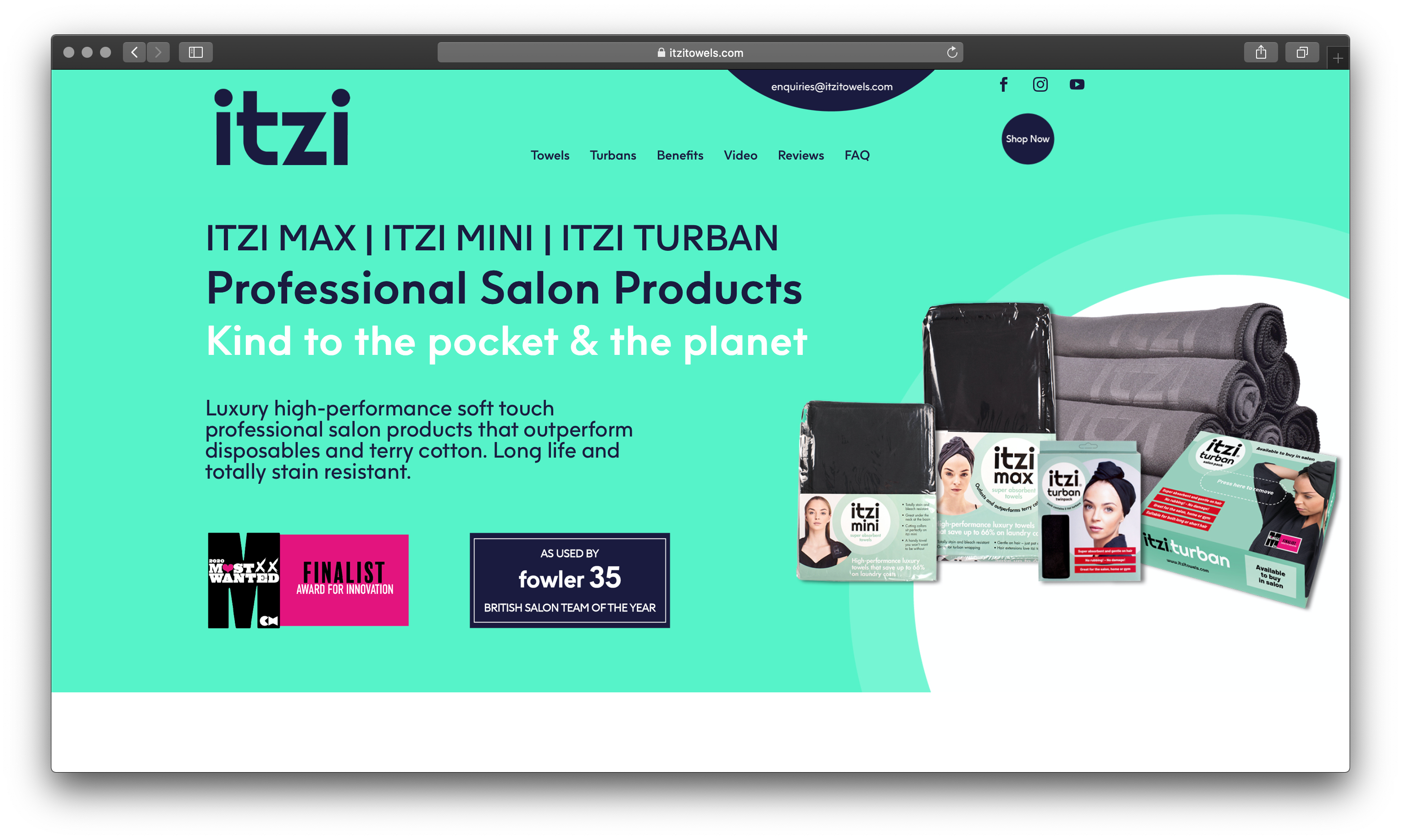 Itzi Case Study | Fast turn around for a fast-growing luxury salon brand