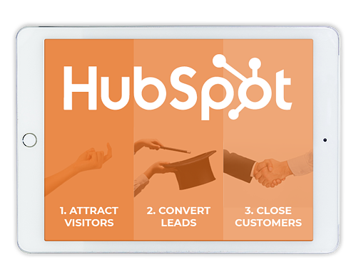 HubSpot helps businesses attract visitors, convert leads & close customers