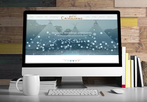 Carlicious, Homepage by UX-Digital