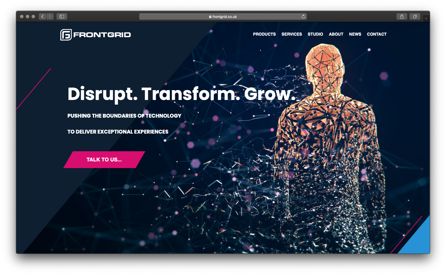 Frontgrid Case Study | Bringing the rapidly converging worlds of media, technology and entertainment to HubSpot