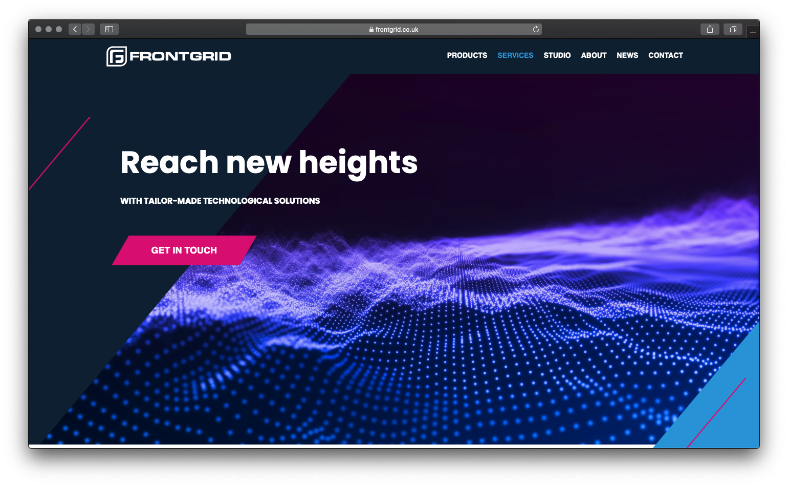 Frontgrid Case Study | HubSpot Launchpad Website