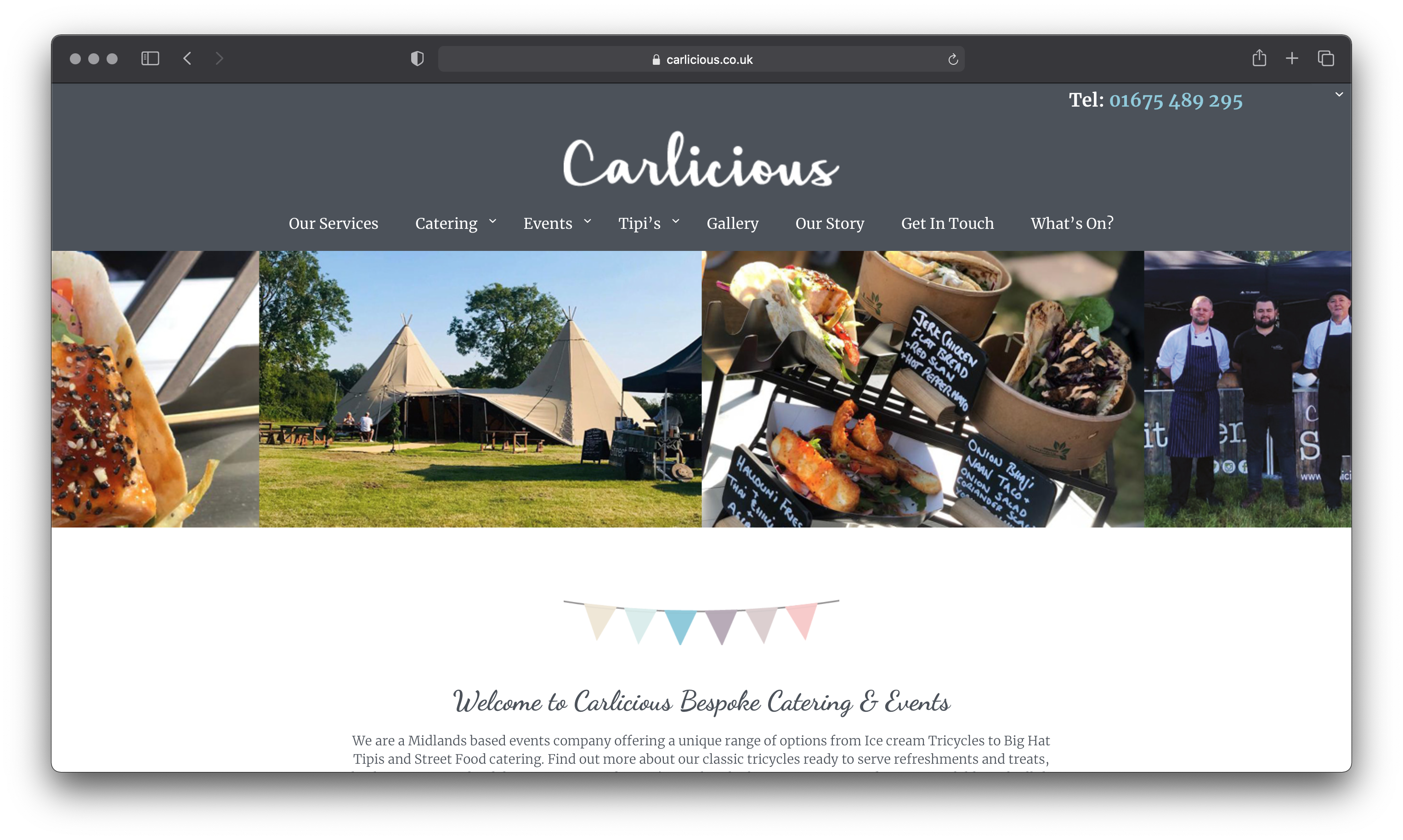Carlicious | Bespoke Catering and Events